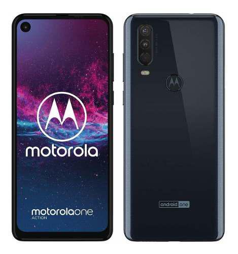 Motorola One Action 128gb 4g Ram Caja Garantia Nuevo