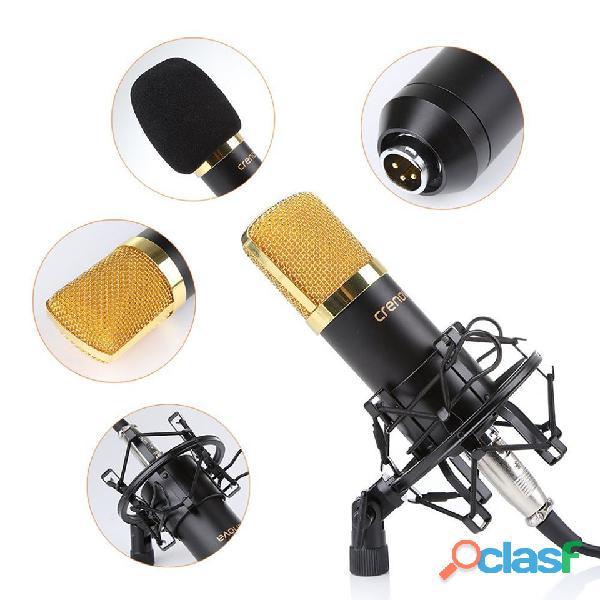 kit de micrófono condensador profesional para estudio