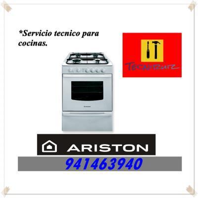 941463940 COCINAS VITROCERAMICAS ARISTON MANTENIMIENTO