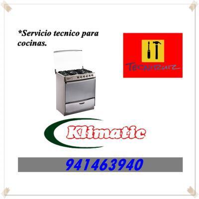 941463940 SERVICIO TECNICO KLIMATIC MANTENIMIENTO COCINAS
