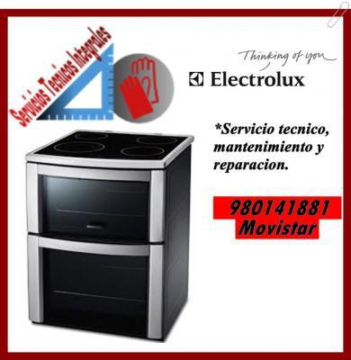 980141881 MANTENIMIENTO Y REPARACION PARA COCINAS ELECTROLUX