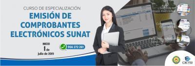 CURSO DE ESPECIALIZACIÓN EN EMISIÓN DE COMPROBANTES