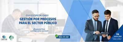 CURSO ESPECIALIZADO GESTIÓN POR PROCESOS PARA EL SECTOR