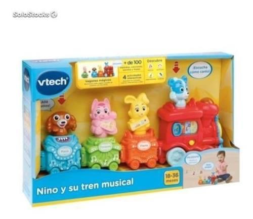 Juguete Interactivo - Nino Y Su Tren Musical Educativo Vtech
