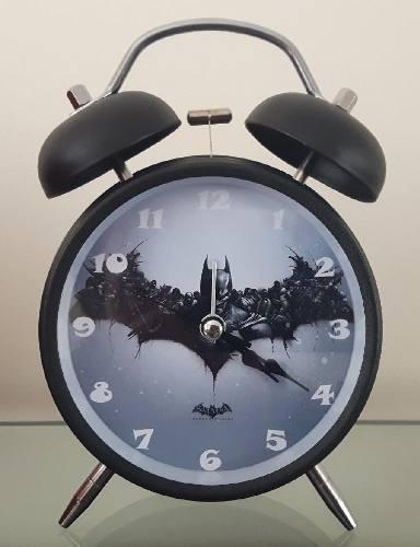 Reloj Despertador Estilo Vintage Batman Retro