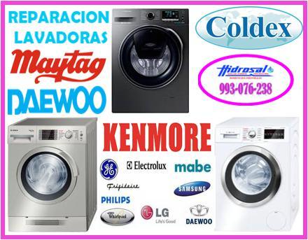 Reparaciones de lavadoras coldex 993076238