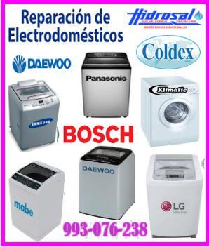 Servicio técnico de lavadoras coldex y mantenimientos