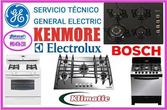 Servicio tecnico de cocinas a gas general electric 993076238