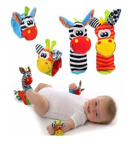 Set De Juguete De Estimulacion Temprana Para Bebe Importados