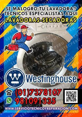 Westinghouse 981091335  Técnicos de Lavadoras en San Isidro