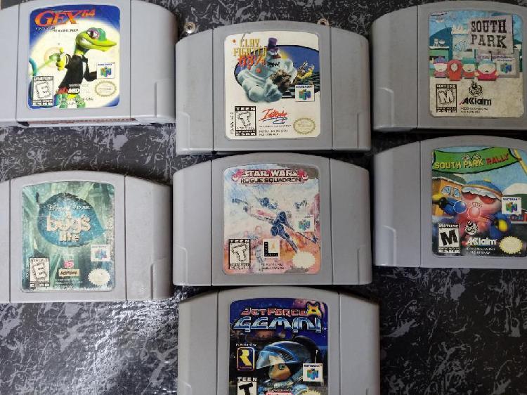 Nintendo 64 Juegos Variados N