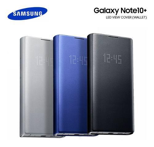 Case Led View Flip Cover Original Para Galaxy Note 10 Plus