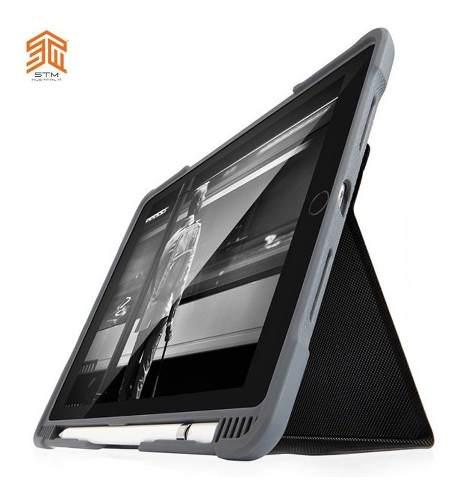 Case Protector Militar Con Tapa Stm Dux Plus @ iPad Pro 10.5