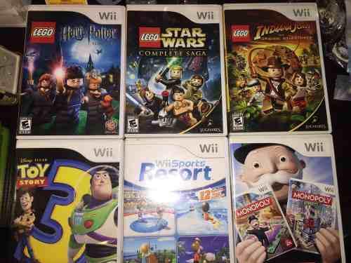 Juegos De Nintendo Wii Originales Buen Estado