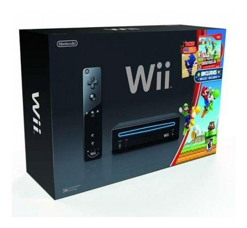 Nintendo Wii System New Super Mario Brothers Y Mario Music