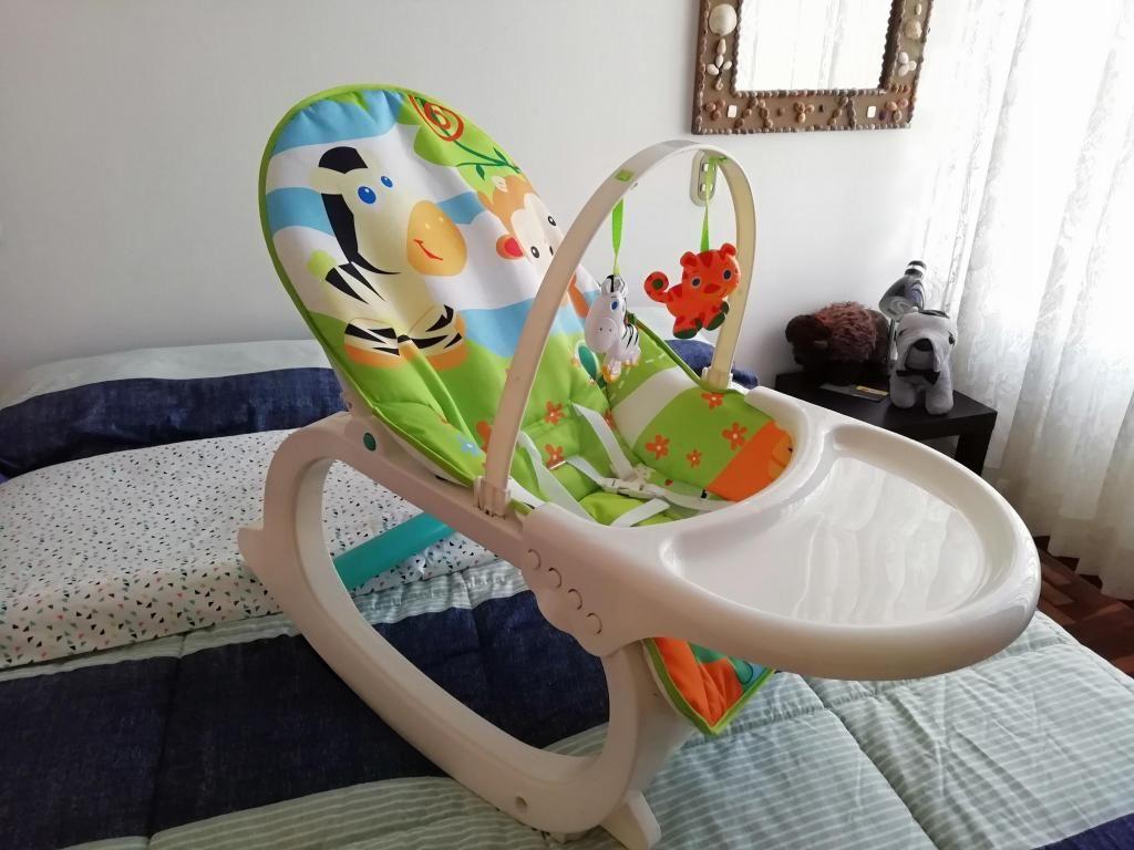 Remato Mecedora y silla de comer musical 2 en 1 Arequipa