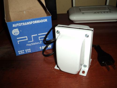 Transformador 220v A 110v 100 Watts - Ps1 Ps2 Nintendo Wii