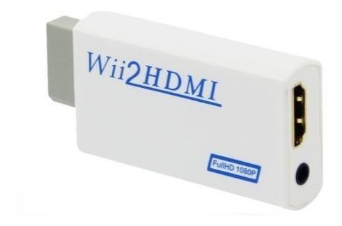 Wii 2 Hdmi Convertidor Adaptador Wii A Hdmi Audio Hdmi1080p