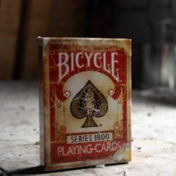 Cartas o naipes serie Bicycle  Vintage (Rojas)