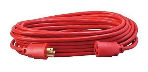 Coleman Cable 02408 143 Sjtw Vinilo Cable De Extension Para