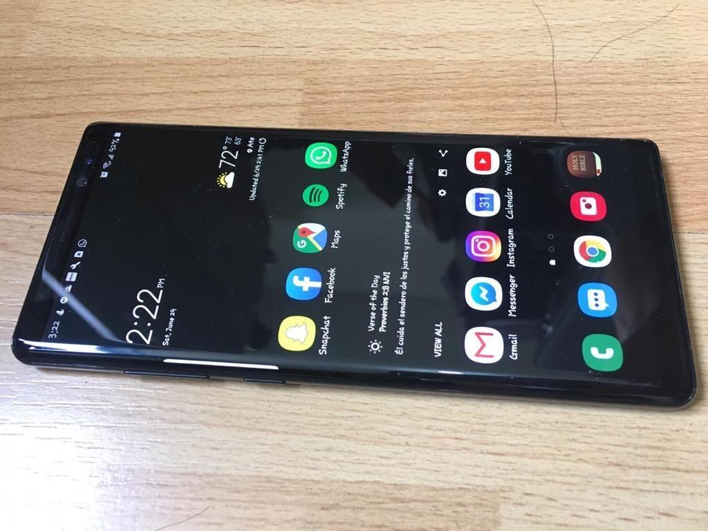 Samsung Galaxy Note 8 Liberado  Soles