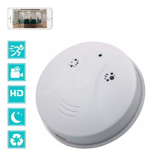 Cámara Espía Oculta Wifi Detector Humo Cámara Camxsw 1080