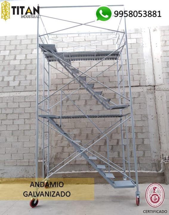 ANDAMIOS CERTIFICADOS