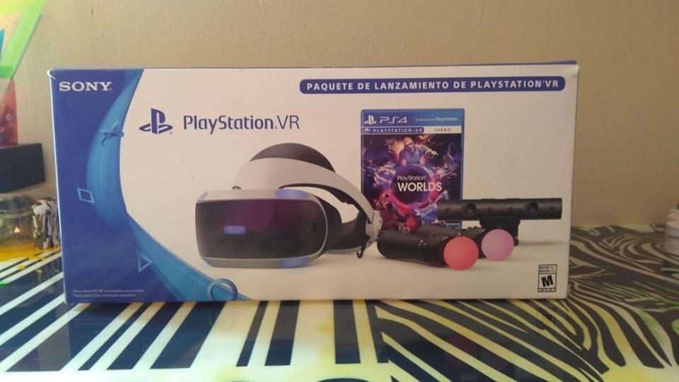 CASCO DE REALIDAD VIRTUAL Ps VR para PS4 slim