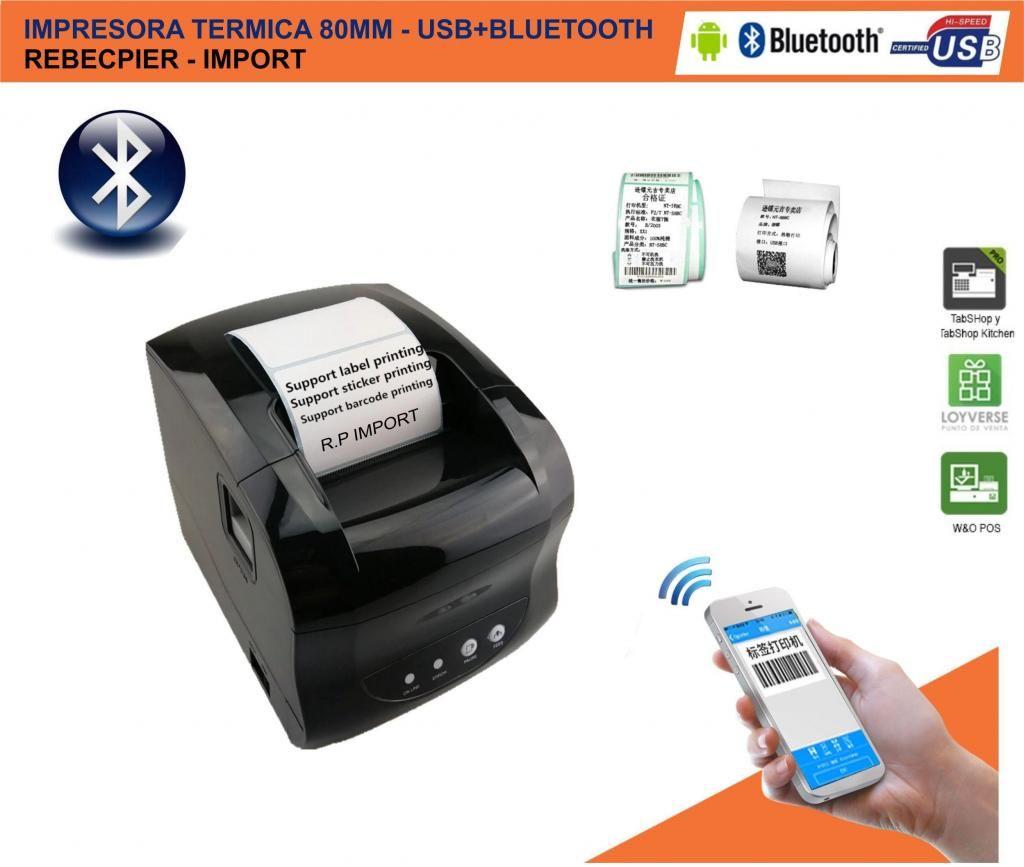 Impresora Termica Etiquetas ticketera adhesivas 60mm gratis