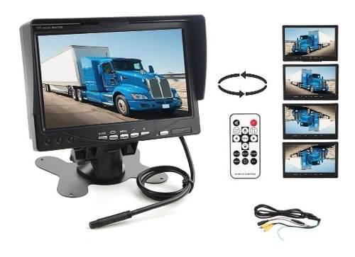 Pantalla 7 Pulgadas Monitor Vídeo Retroceso Camión