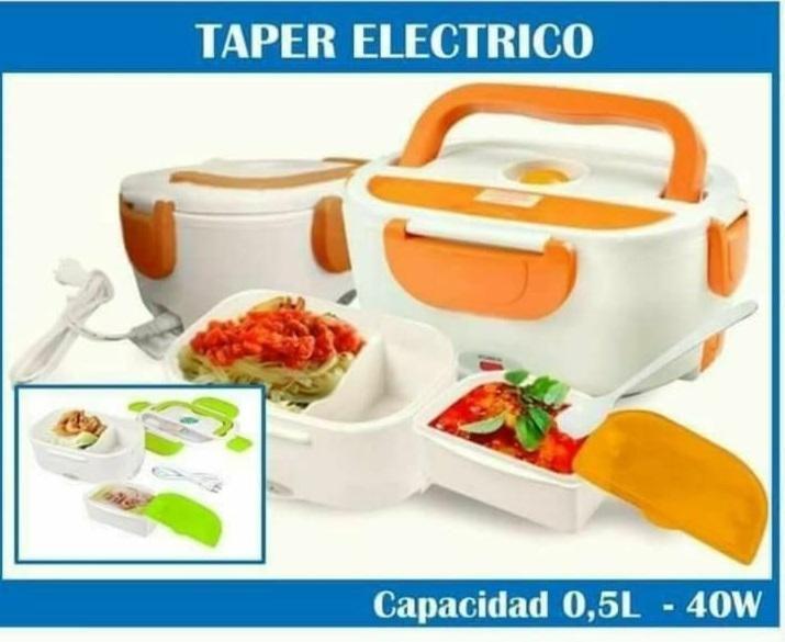 Taper Lonchera Electrica calentador de comida