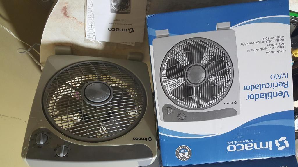 Ventilador Recirculador Imaco