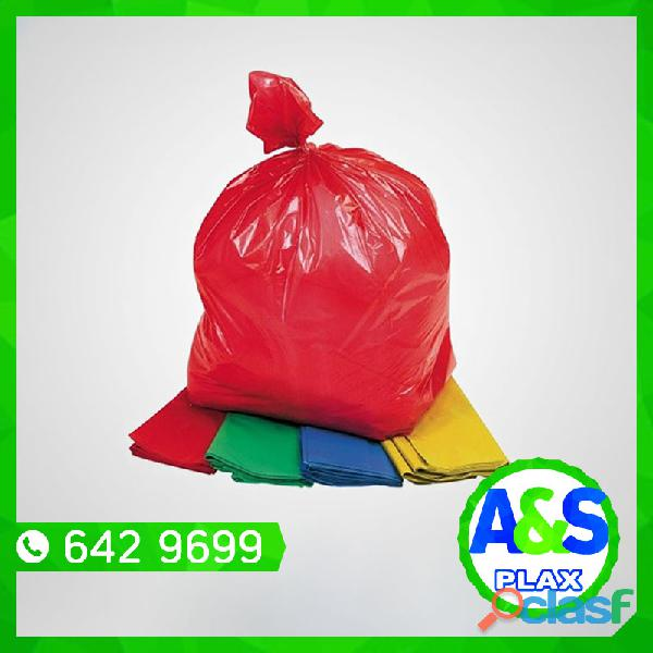 Bolsas para Basura Biodegradables A&S PLAX