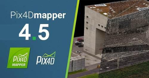 nuevo] Pix4d Pix4dmapper Pro 4.5 | 64 Bits | Permanente
