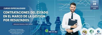CURSO ESPECIALIZADO CONTRATACIONES DEL ESTADO EN EL MARCO DE