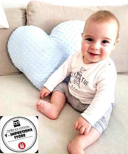 Cojin Alto Relieve Plush Importado Bebes