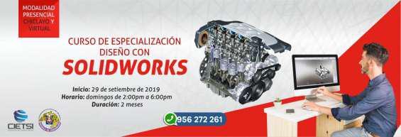 Curso de especialización diseño con solidworks 2019