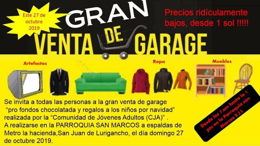 GRAN VENTA DE GARAGE