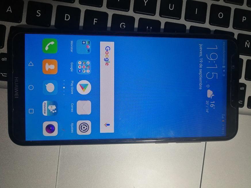 Huawei yGB RAM y 16GB, imei original 9.5pts