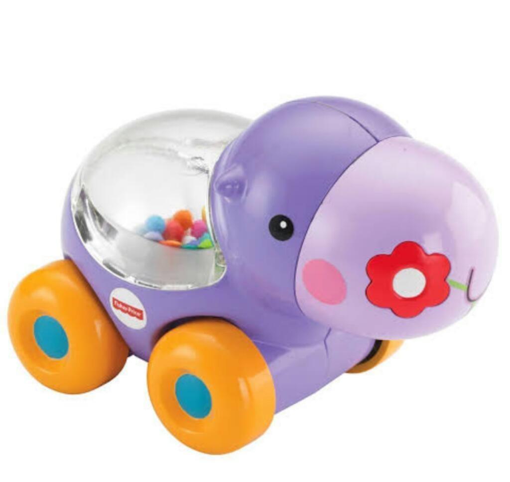 Juguete Fisher Price poppity pop Hipopótamo tipo Carrito