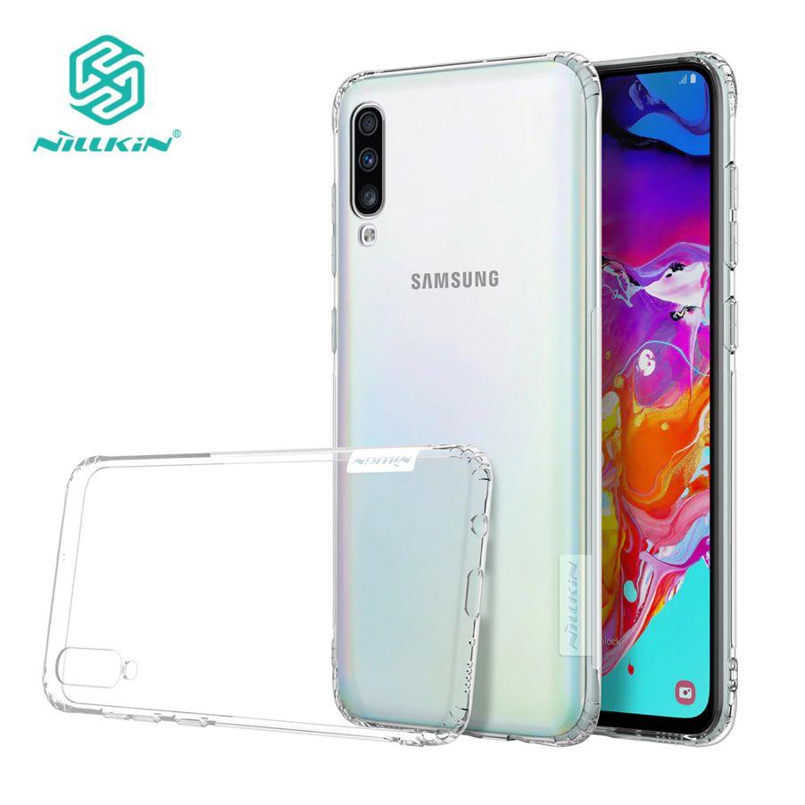 Case Nillkin Transparente Para Samsung Galaxy A70 / A50