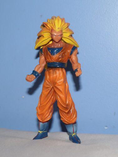Goku Ssj3 - Figura De Acción - Munecos Dragon Ball Z