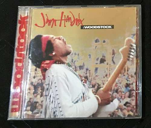 Jimi Hendrix Woodstock Cd De Epoca