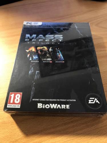 Mass Effect Trilogía Pc (nuevo Y Sellado)