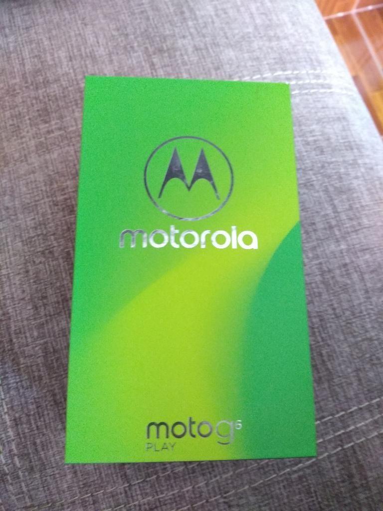 Moto G6 Play Como Nuevo