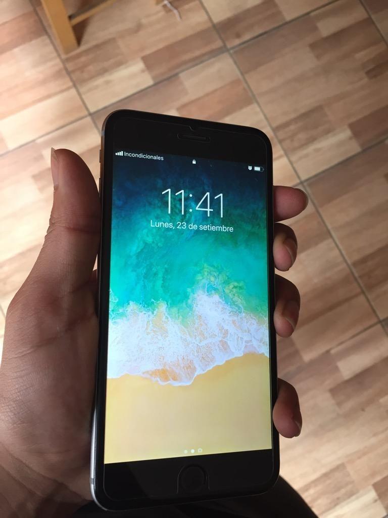 Remato iPhone 6 Plus 128Gb Hoy Libre