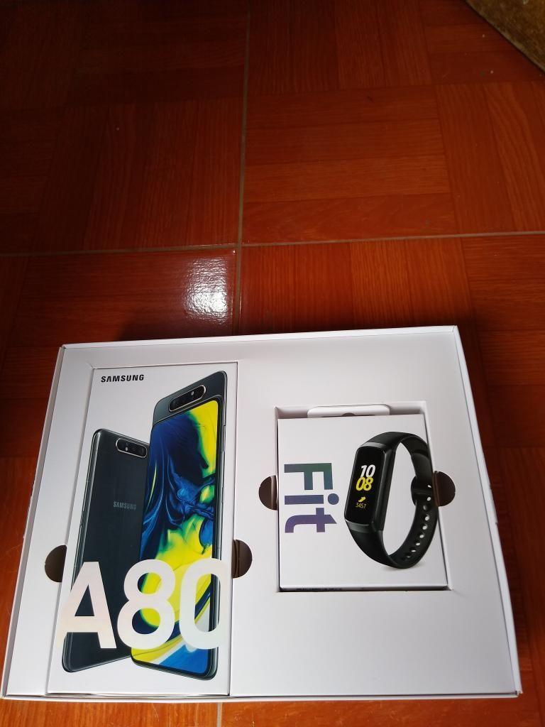 Samsung A80 Nuevo 128gijas con Reloj