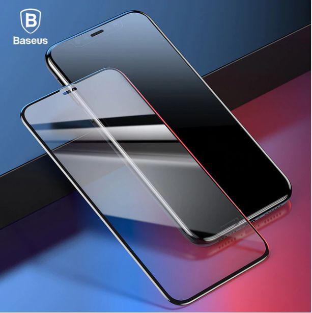 Vidrio Templado Baseus 3d Original Para Iphone Xr / Xs Max