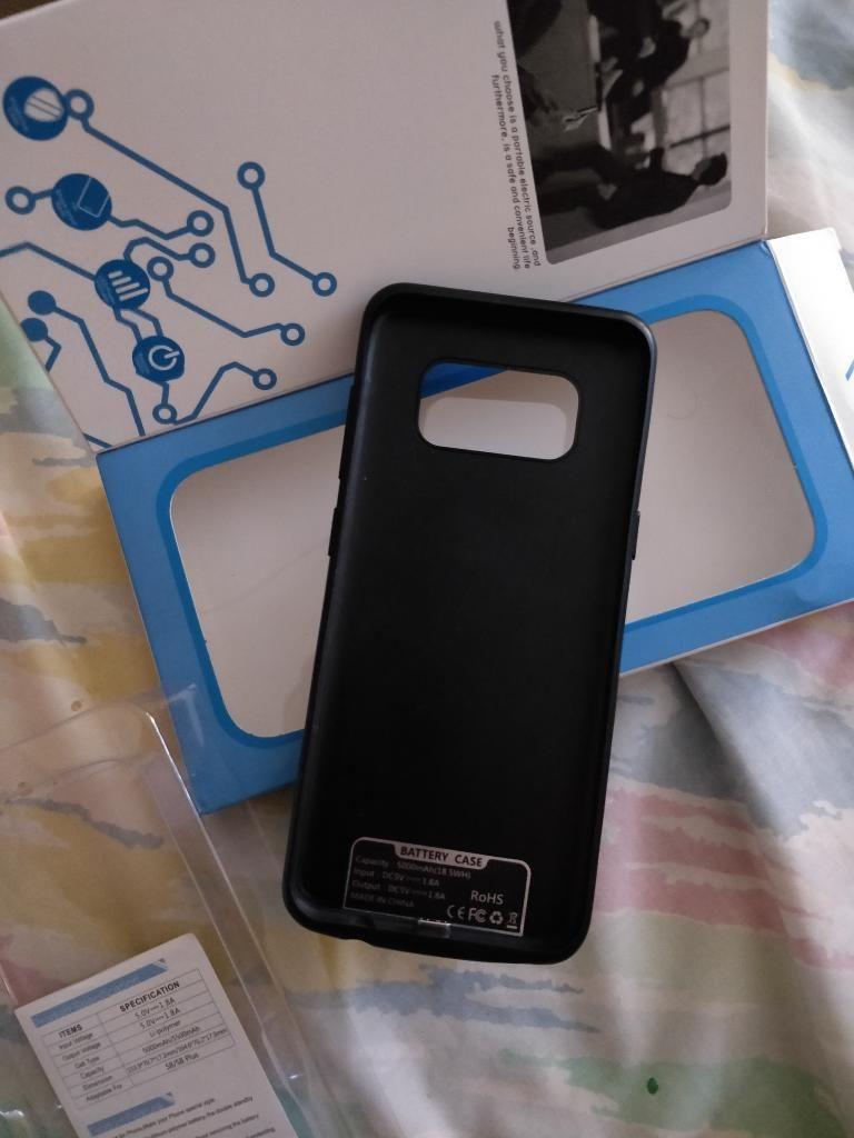 Vendo Case Cargador Bateria S8 Bueno