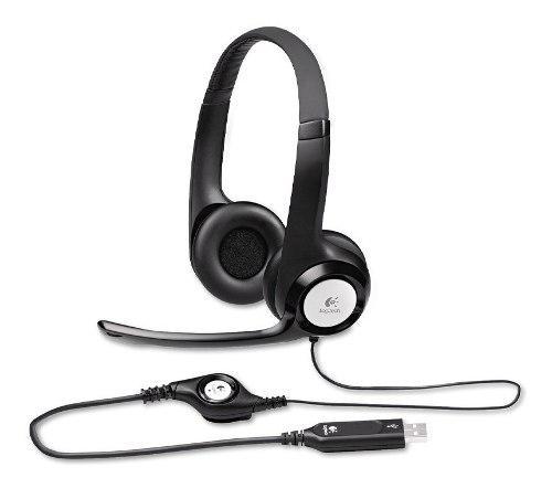 Audifono C/microf. Logitech H390 Usb Noise Cancelling (981-0